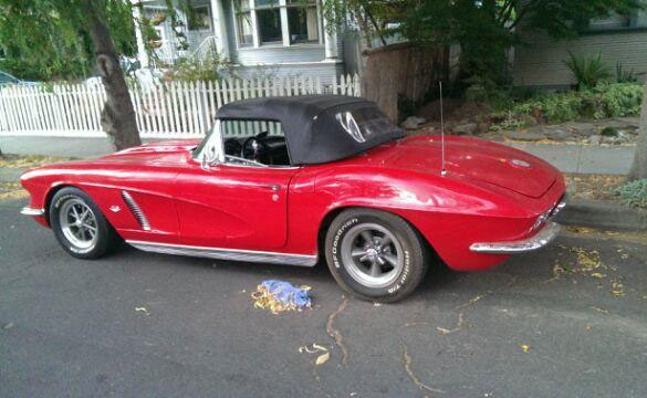 Stolen 1962 Corvette Back Home With Owner