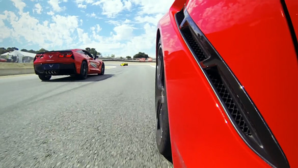 [VIDEO] Justin Bell Drives the 2014 Corvette Stingray at Laguna Seca