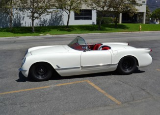 Corvettes on eBay: LS-Powered 1954 Corvette Restomod