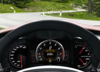 Johnson Controls Develops Advanced Cluster Display for 2014 Chevrolet Corvette Stingray