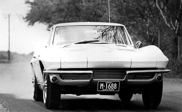 [PIC] Throwback Thursday: 1963 Corvette Sting Ray Burnout