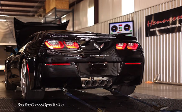 [VIDEO] Hennessey Performance Dynos the 2014 Corvette Stingray