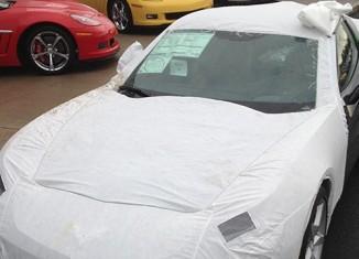 [VIDEO] Removing the Corvette Stingray's Transit Cover