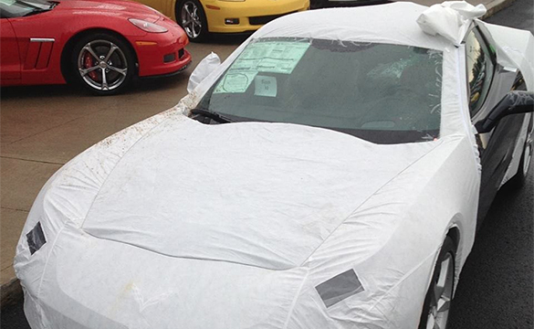 [VIDEO] Removing the Corvette Stingray's Transit Cover