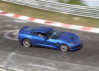 [VIDEO] 2014 Corvette Stingray Testing at Nurburgring