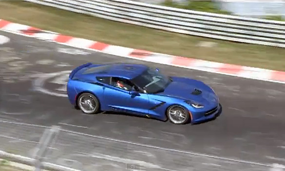 [VIDEO] 2014 Corvette Stingray Testing at Nurburgring