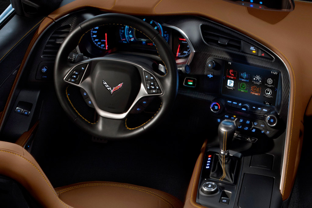 The 2014 Corvette Stingray S 6 Speed Automatic Is Rated 16