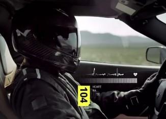 [VIDEO] Reverse Test Drive Monitors Driver Biometrics while Testing the C7 Corvette Stingray
