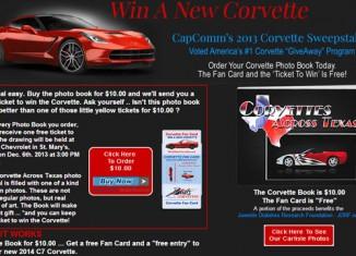 Win A New 2014 Corvette Stingray!
