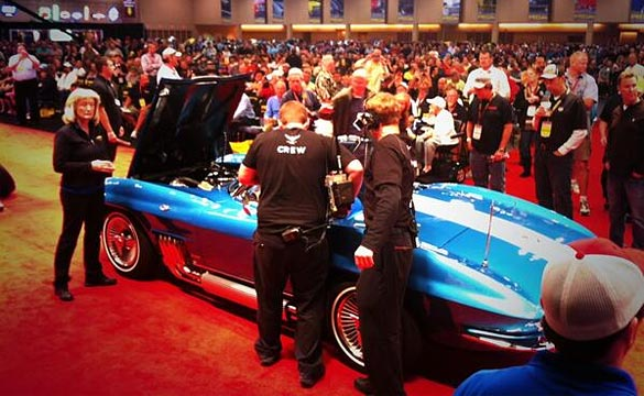 [VIDEO] The 1963 Harley J. Earl Corvette Sells for $1.5 Million at Mecum Chicago