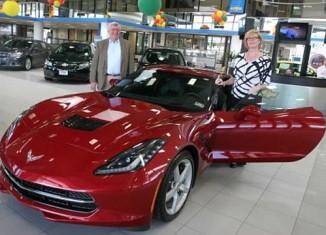 Chevette Girl Finally Gets Her Corvette
