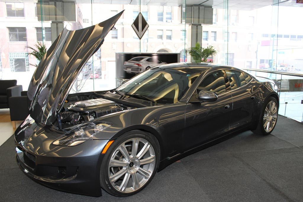 Destino is a Reborn Fisker Karma with Corvette Power