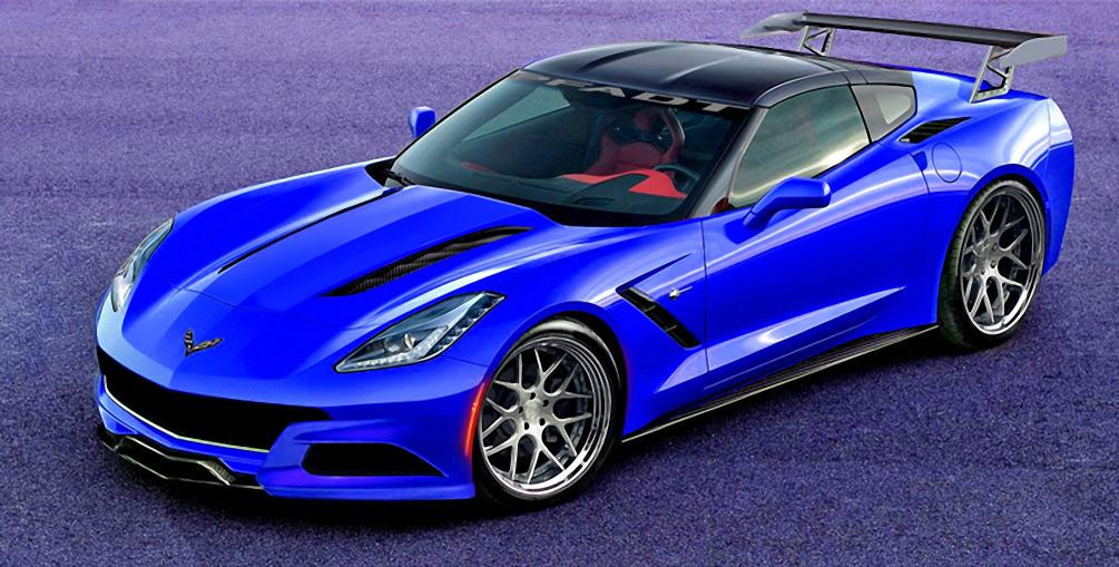2014 Corvette Stingray P58 Concept to be Shown at SEMA