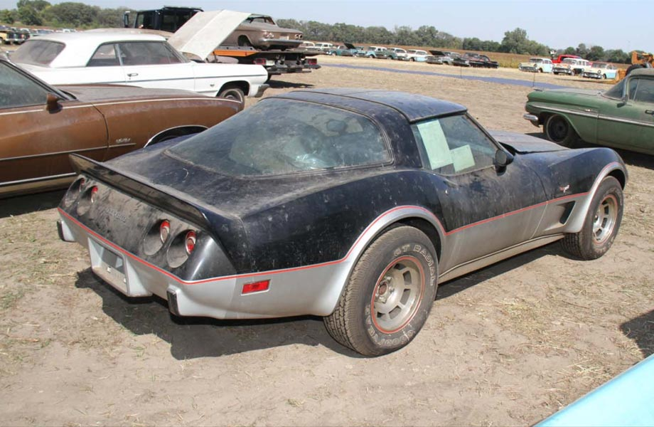 Nebraska Farmer Buys Lambrecht Chevy's 4 Mile 1978 Corvette Indy Pace Car