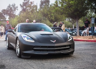 [PIC] 2014 Corvette Stingray Wrapped in Matte Black