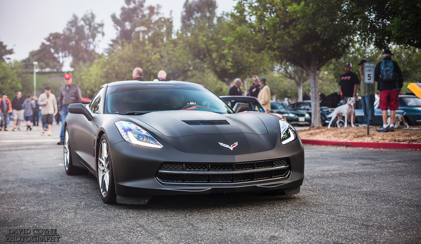 [PIC] 2014 Corvette Stingray Wrapped in Matte Black