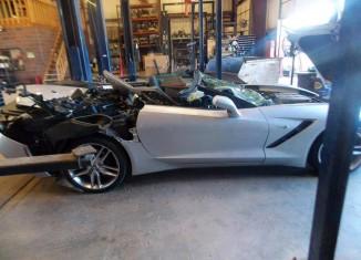[ACCIDENT] Another 2014 Corvette Stingray Bites the Dust
