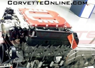 Is This the C7 Corvette Z07's Supercharged LT4 V8 Engine?
