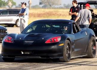 [VIDEO] C6 Corvette Suffers a Nitrous Explosion at the Texas Mile