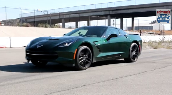 [VIDEO] Edmunds Takes Their Long Term C7 Corvette Stingray to the Track