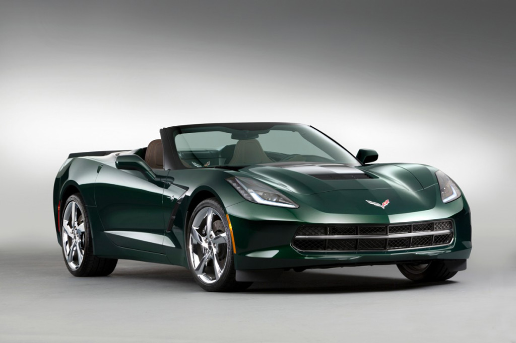 GM Announces New Premiere Edition with Lime Rock Green Corvette Stingray Convertible