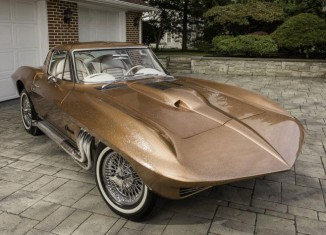 "The George Barris ""Asteroid"" Corvette to Cross Barrett-Jackson's Scottsdale Auction Block"