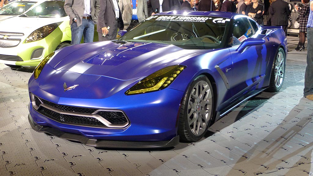[VIDEO] SEMA 2013: The Corvette Stingray Gran Turismo Concept