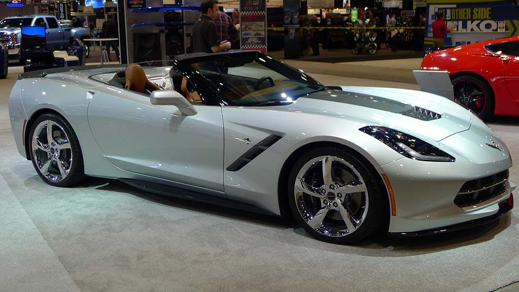 [VIDEO] SEMA 2013: The Corvette Stingray Convertible Atlantic Concept
