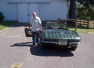 1967 Corvette Sting Ray Convertible Sold by the Only Owner its Ever Had