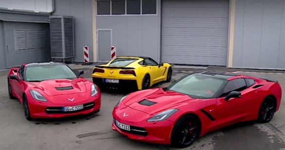 [VIDEO] C7 Corvette Stingray Testing at Navak in Serbia