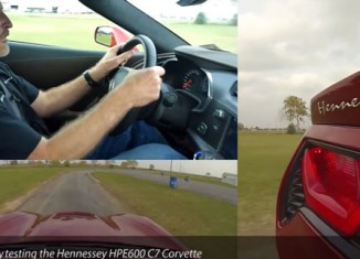 [VIDEO] John Heinricy Drives the Hennessey HPE600 Corvette Stingray