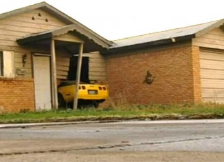 [ACCIDENT] C4 Corvette Crashes into a House in Odessa, Texas
