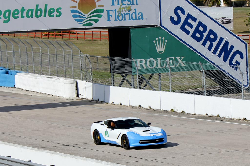 [VIDEO] Instructor Brutally Drives His 2014 Corvette Stingray at Sebring
