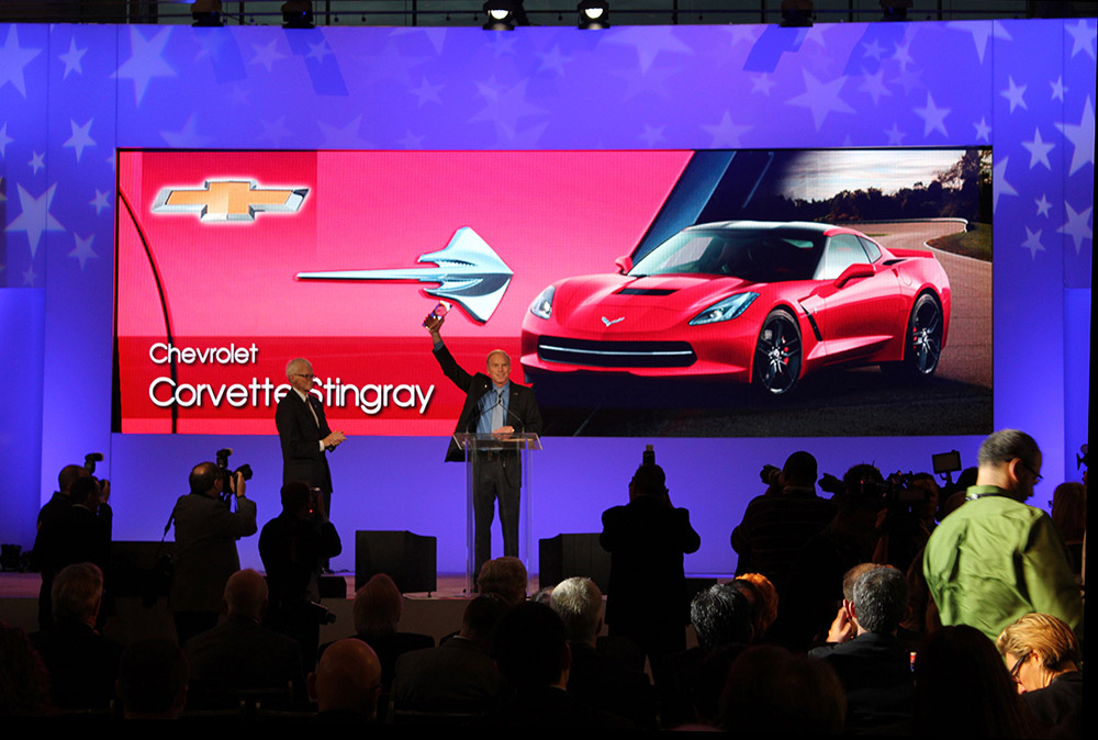 [PICS] 2014 Corvette Stingray Named North American Car of the Year