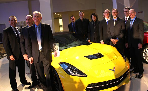 [VIDEO] 2014 Corvette Stingray Named North American Car of the Year