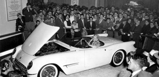[PIC] Corvette Makes First Public Appearance 61 Years Ago Today