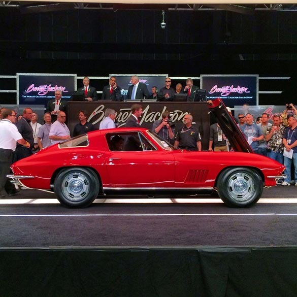 1967 Corvette L88 Sells for World Record $3.5 Million at Barrett-Jackson - Updated w/ Video