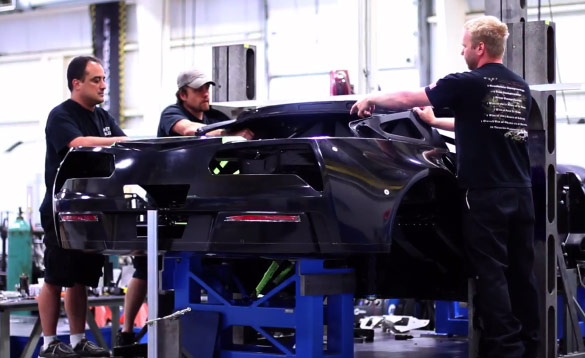 [VIDEO] Corvette C7.R Build and Development