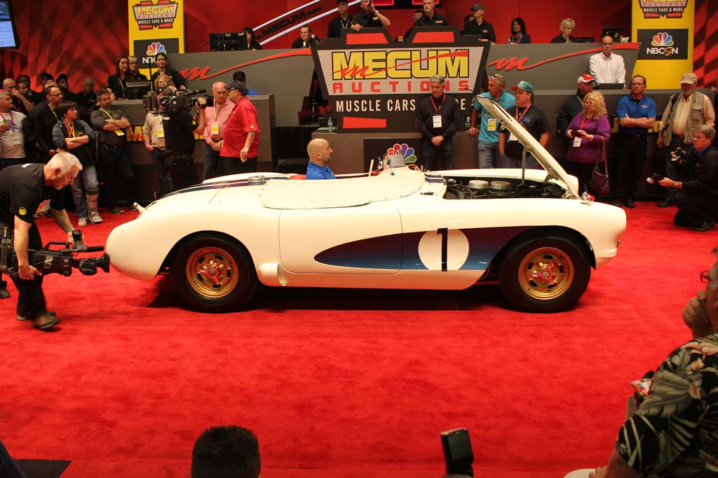 "The 1956 ""Real McCoy"" Corvette Sells for $2.3 Million at Mecum Kissimmee"