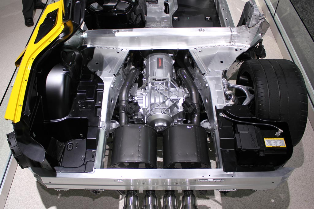 REPORT: 2015 Corvette Stingray Will Not Get Eight-Speed Auto Transmission