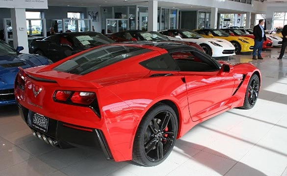 January 2014 Corvette Sales