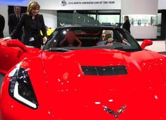 [VIDEO] VP Joe Biden Really Really Likes the New Corvette Z06