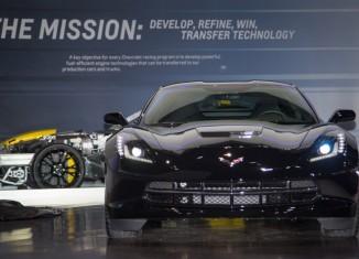 [PICS] Black Widow's Corvette Stingray at the Chicago Auto Show