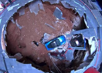 Corvette Museum's Wendell Strode Provides Friday Sinkhole Update