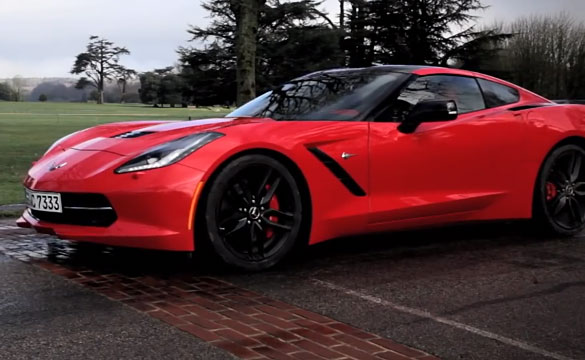 [VIDEO] Corvette Stingray vs Britannia at Goodwood Hill Climb
