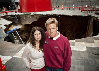 Couple Visits Corvette Museum to See the Sinkhole that Swallowed their Donated 2001 Corvette Z06