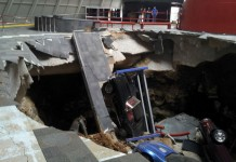 Corvette Museum Making the Best of the Sinkhole Situation