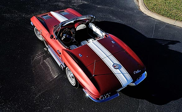 Mecum's Houston Event Offers Two Compelling Midyear Corvettes