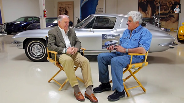 [VIDEO] Corvette Sting Ray Designer Peter Brock on Jay Leno's Garage