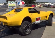 [VIDEO] 4x4 C3 Corvette Dares to be Different